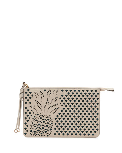 Myer Pineapple Leather Pouch