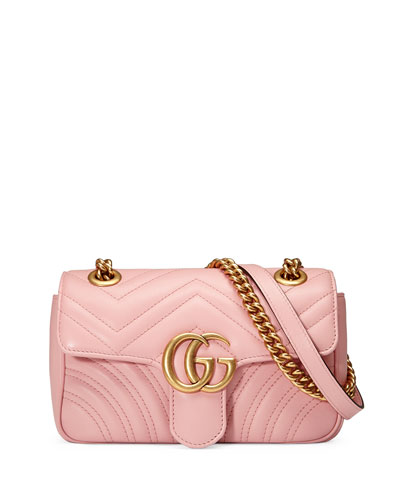 GG Marmont 2.0 Mini Quilted Leather Crossbody Bag