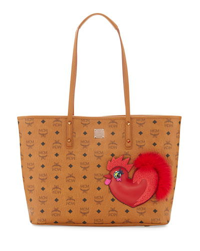New Year Series Medium Top-Zip Shopper Bag