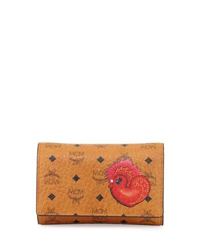 New Year Series Three-Fold Flap Wallet