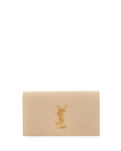 Monogram Grained Calfskin Clutch Bag