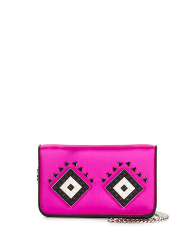 Miss Wu Satin Clutch