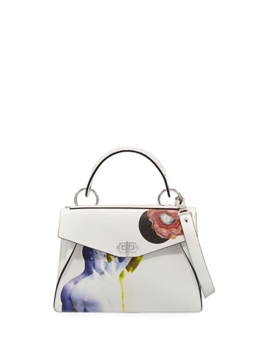 Hava Medium Printed Top Handle Bag