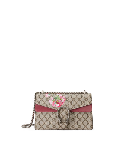 Dionysus Geranium-Print Medium Shoulder Bag