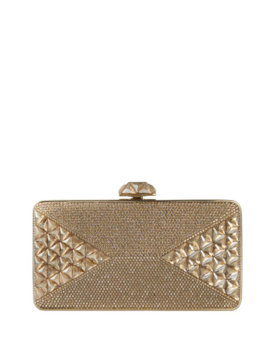 Diamond Crystal Box Clutch Bag