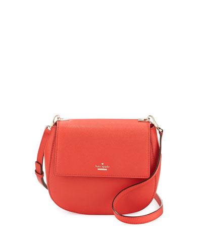 cameron street byrdie leather crossbody bag, apple jelly