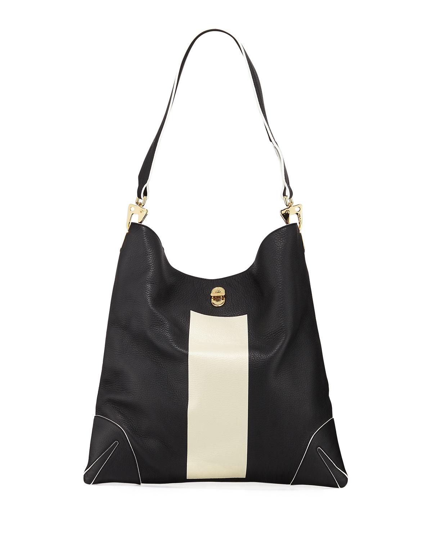 Sullivan Patchwork Leather Hobo Bag