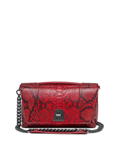 Anouk Day Python Shoulder Bag