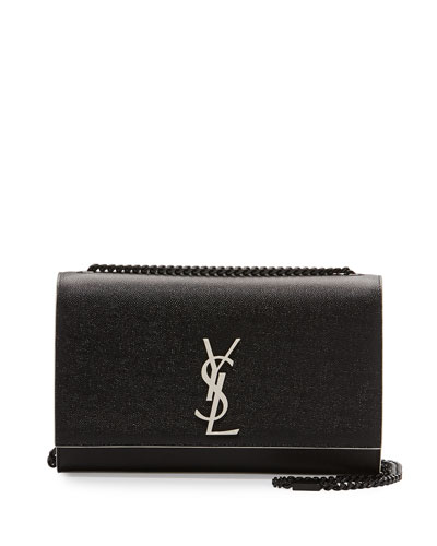 Monogram Kate Medium Chain Bag, Black