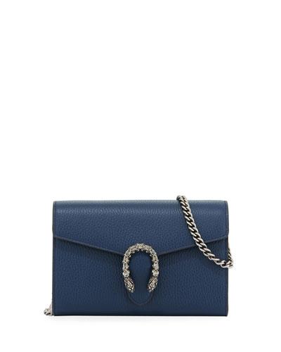 Dionysus Leather Mini Chain Bag