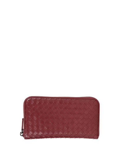 Continental Zip-Around Wallet