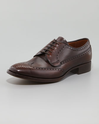 Wing-Tip Lace-Up, Rovere Brown