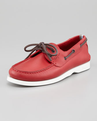 World Boat Shoe, Red