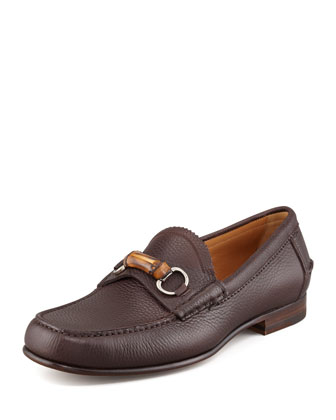 Bamboo Millet Loafer, Brown