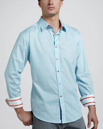 Bitter End Sport Shirt, Teal