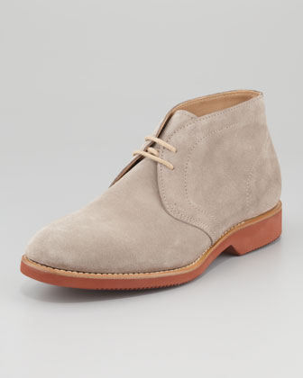 Suede Desert Boot, Gray