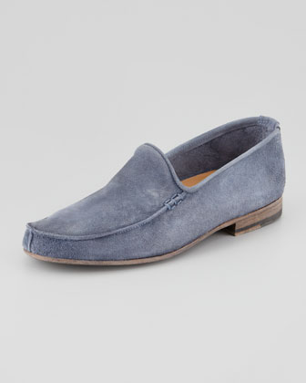 Scotty Vintage Suede Loafer, Blue