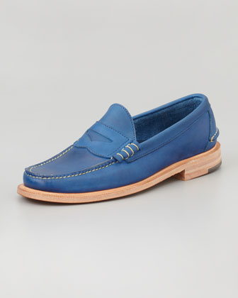 Martin Penny Loafer, Blue