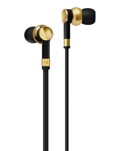 Master & Dynamic Me 05 In - ear Headphones, Brass Metal / black Rubber