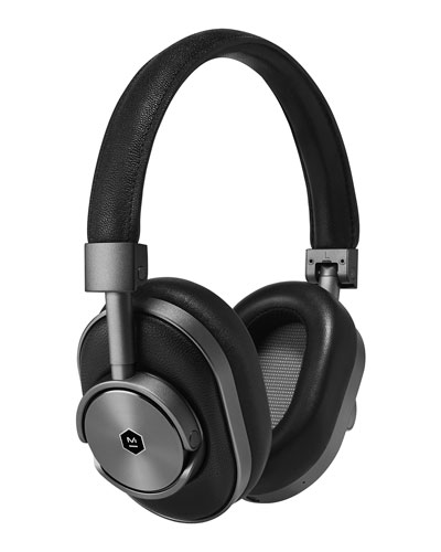 Master & Dynamic Mw 60 Wireless Over - ear Headphones, Black / gunmetal
