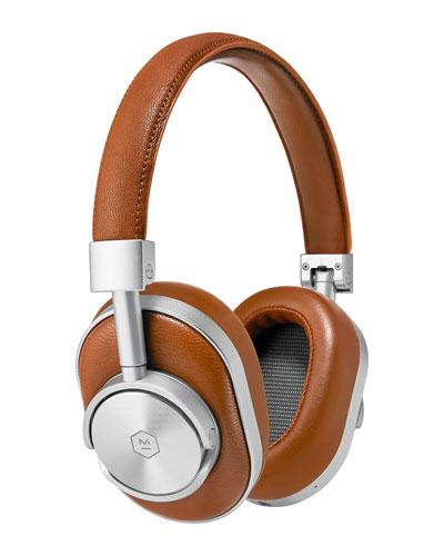 Master & Dynamic Mw 60 Wireless Over - ear Headphones, Brown / cognac