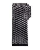 Gauze Knit Tie, Gray
