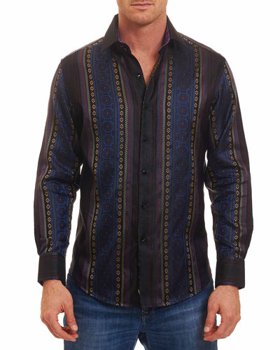 Limited Edition Brute Silk Sport Shirt, Multi