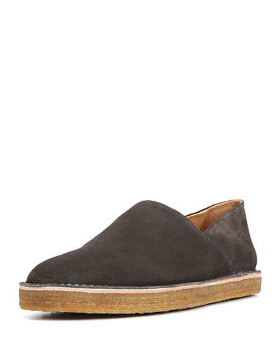 Gifford Suede Slip-On Shoe, Gray