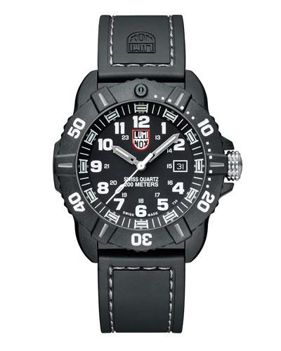 44mm Sea Series Coronado 3021 Watch, Silver