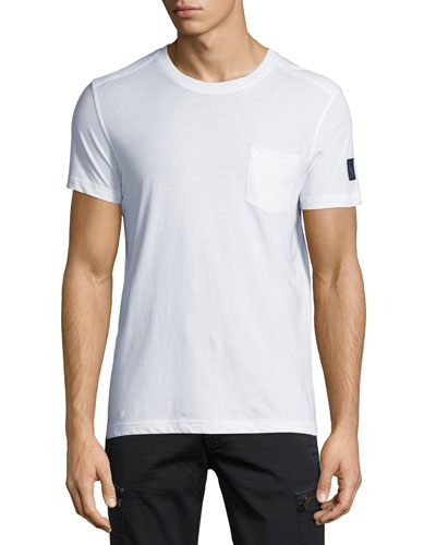 New Thom Heritage Jersey T-Shirt, White