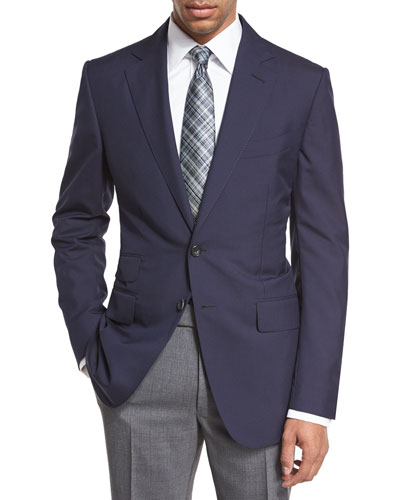 O'Connor Base Plainweave Sport Coat, Navy