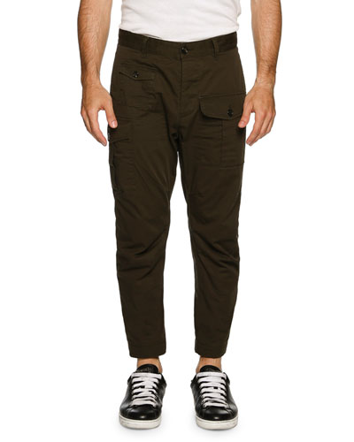 Military Twill Cargo Pants