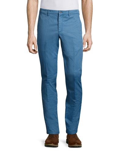 Eton Twill Pants, Blue