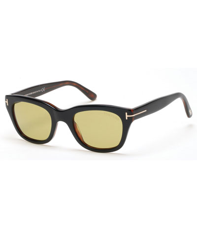 Snowdon Rectangular Acetate Sunglasses