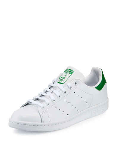 Men's Stan Smith Original Sneaker, White/Green