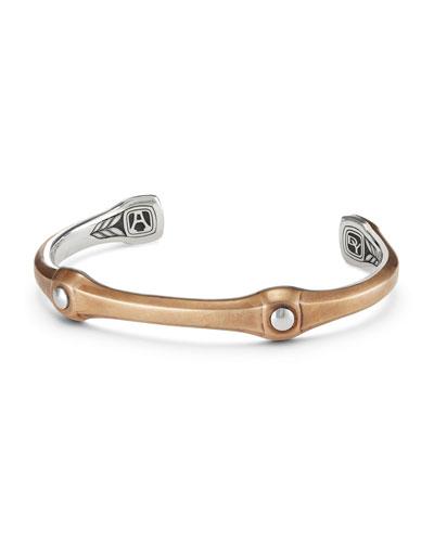 Men's 10.5mm Anvil Cuff Bracelet