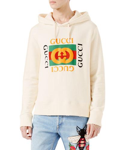 Cotton Sweatshirt w/Logo Print