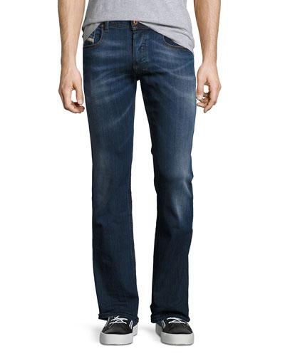 Zatiny 0679I Boot-Cut Jeans, Blue