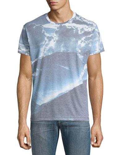 Skylight Crewneck T-Shirt, Sky