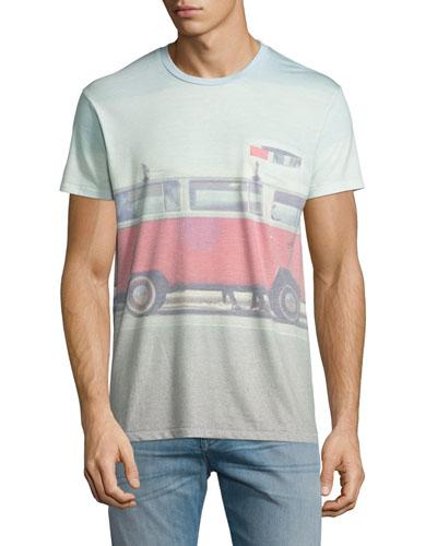 Camper Bus Graphic T-Shirt, Multi