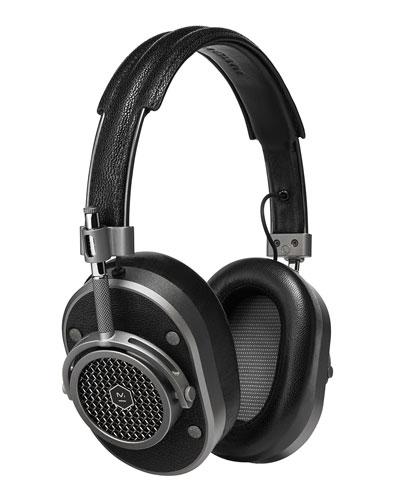 Master & Dynamic MH40 Noise - Isolating Over - Ear Headphones, Black / Gunmetal