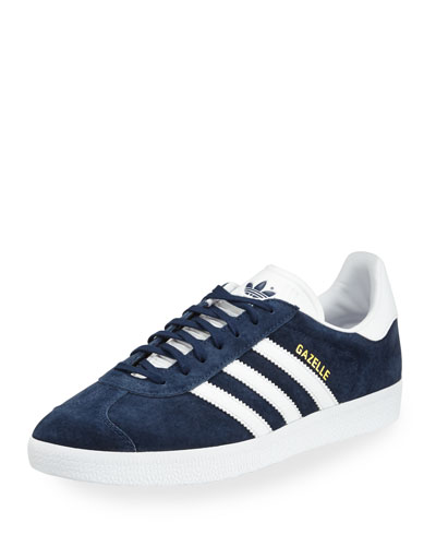 Men's Gazelle Original Suede Sneaker, Navy