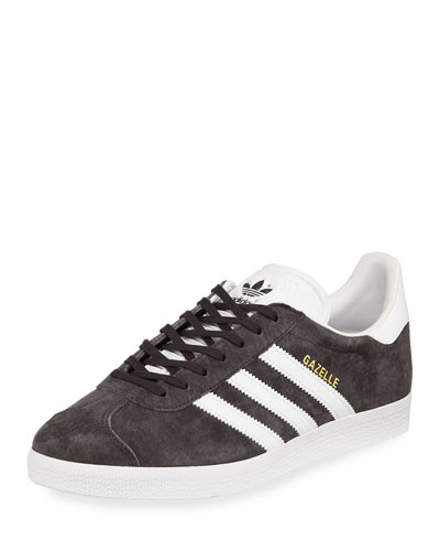 Men's Gazelle Original Suede Sneaker, Gray