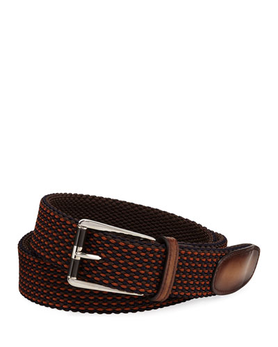 Seniro Tricolor Knit Belt