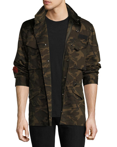 M65 Hooded Camo Jacket
