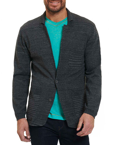 Shepard Knit Sport Coat, Dark Gray