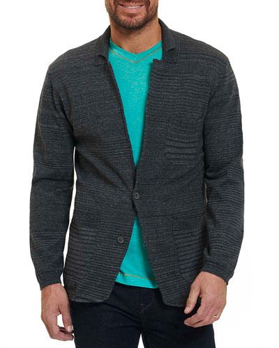 Shepard Knit Sport Coat, Dark Gray