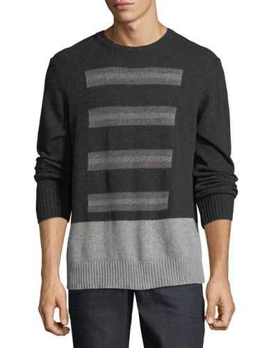Vostok Donegal Crewneck Sweater