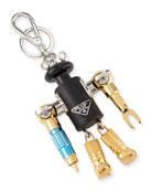 Robin Robot Trick Key Chain