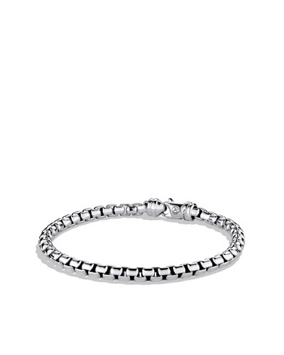 Large Link Box Chain Bracelet